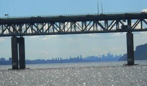 ♪♫ On a clear day, you can see forever (or at least to the Manhattan skyline) ♪♫ . . .