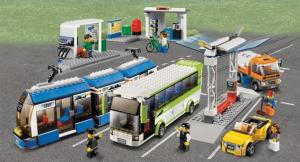What will be the final transit recommendations?/Courtesy of LEGO® City Public Transport