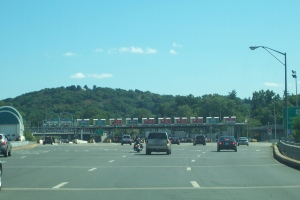 Tappan Zee Bridge toll plaza/Courtesy of Jack Thomas