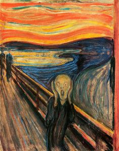 The Scream/Norwegian painter Edvard Munch
