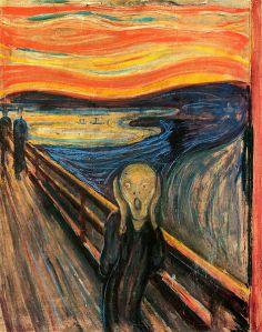 The Scream/Norwegian painter Edvard Munch