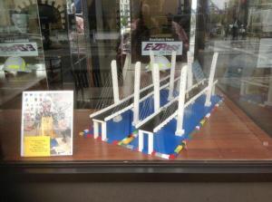 LEGO® image of New NY Bridge/Courtesy Team Outreach