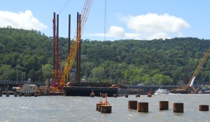Rockland trestle is 80% complete/© Janie Rosman 2014