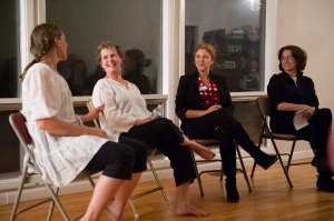 RAW: TALK with Shawna Emerick, Margaret Liston, Naomi Vladeck, and Jane Dubin/Photo credit: Mark Liflander