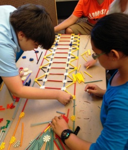 Building foundations for the K'NEX structure and for problem-solving/White Plains Public Library