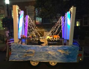 Why wait for 2018? Tarrytown's Halloween parade had its own NNYB, designed and built by David Titcomb aided by Mary Kohrherr, Amy Bender, Anita McGovern, Sheila Sullivan, Nancy Zallo, Chris Swenson and Kyle McGovern/Photo: MK