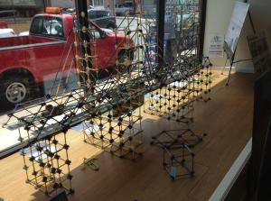K'NEX Bridge is at Nyack Outreach Center/NNYB Outreach