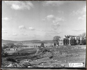 Mansion at Luke Estate looking west/Virtual Archives