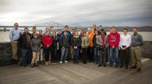 Appreciation, fascination and sense of community for the state's biggest project were how some RPI students described their recent Hudson Valley visit/NNYB Outreach
