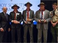 Good Scout Honorees Jeff Loughlin, Jeff Randolph and Darrell Waters/Photo: WPC