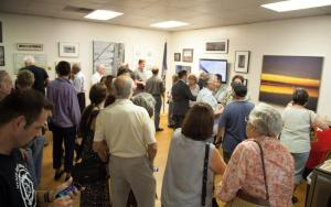 Opening night: admiring Westchester and Rockland artists' depictions of the current and future bridge/NNYB Outreach