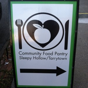 First food pantry honored with the Michal Winter Award for Agency Excellence (2013)/Photo: Community Food Pantry
