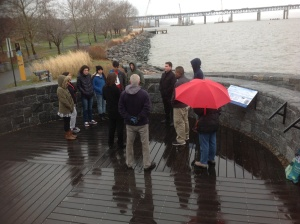 Guess where I am in this picture/New NY Bridge Outreach