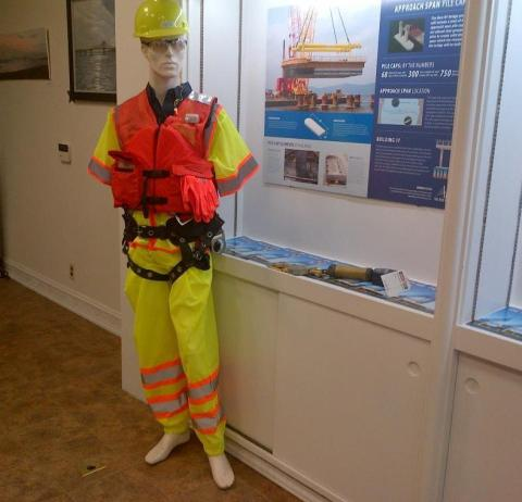 Looking good, dressed for work. Do you know what a yellow hat means?/NNYB Outreach