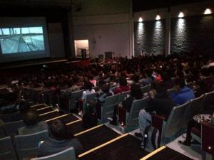 Nyack HS students learn about bus rapid transit and the possibility of light rail on the new bridge/NNYB Outreach