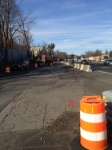 TZC temporarily uses Thruway southbound access ramp/NYSTA