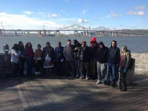 Seeing the view from Tarrytown to across the river/NNYB