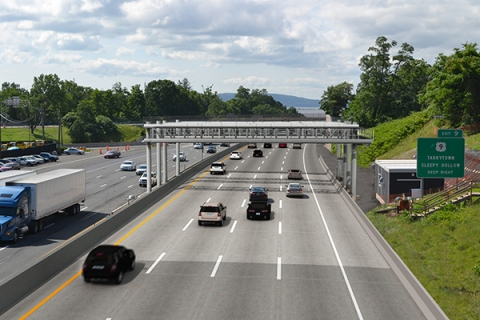 Rendering of gantry that will soon be up and running/New York State Thruway Authority