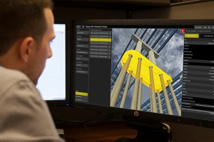 3D technology enables designers to see the project virtually and how various aspects of the bridge fit together/NYSTA