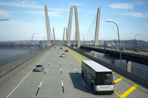 Corridor will have an extensive BRT system in place by 2018./NYS Thruway Authority