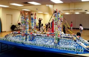 Creativity with cans for fun and a charitable cause/JCC