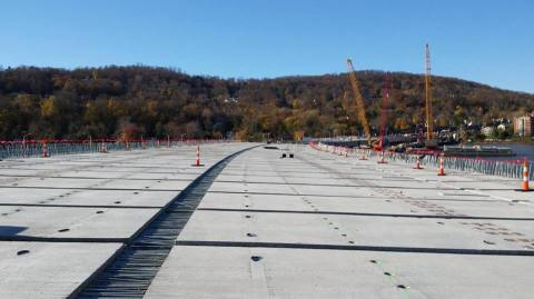 Project officials: road deck segment installation near Rockland begins next week/NYSTA