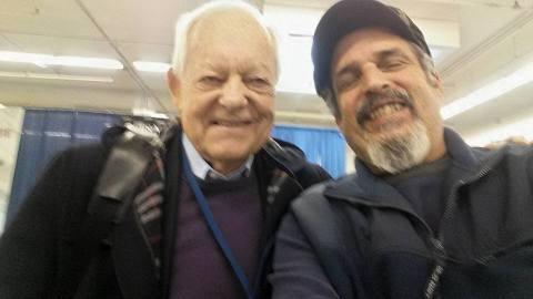 Emmy Award-winning journalist Bob Shieffer, Rockland's fav photographer Frank LoBuono