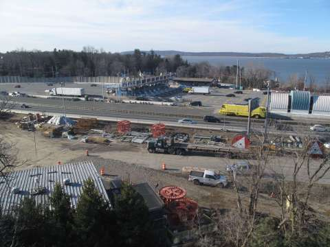 Former Thruway maintenance facility will be demolished/EarthCam® construction camera