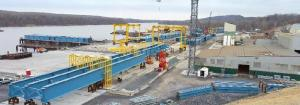 Steel girders to be barged from Port of Coeymans/NYSTA