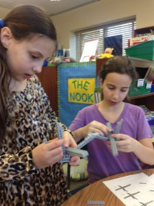 Teaming up to build a LEGO® bridge/C Boyer