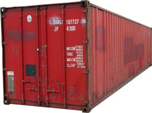 Shipping container. Photo by KMJ (CC 3.0)