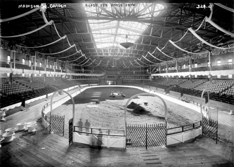 Original Madison Square Garden, where mom and dad met/Library of Congress (loc.gov)